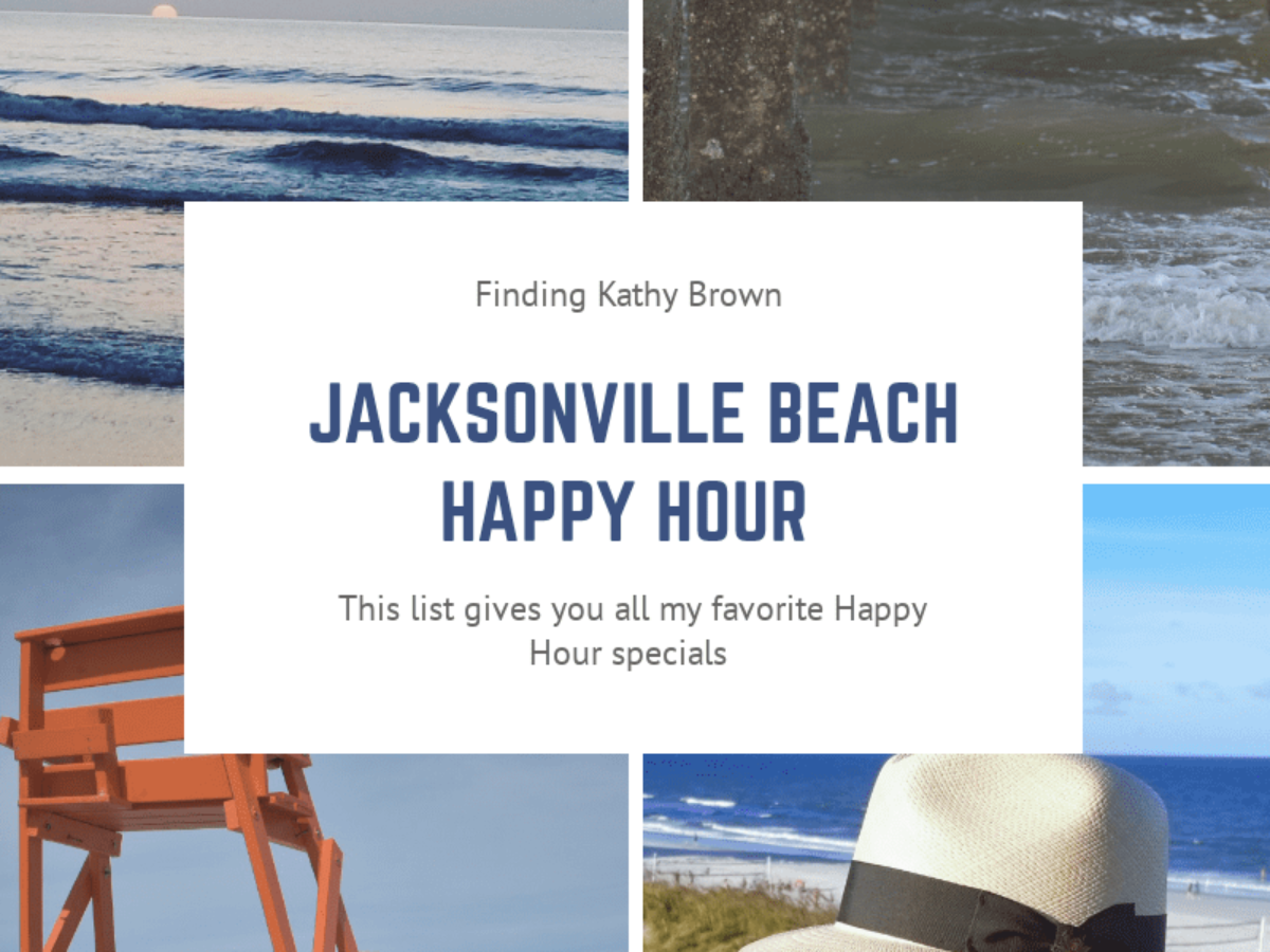 Jacksonville Beach Happy Hour Specials   Finding Kathy Brown